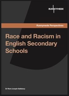 Race and Racism in English Secondary Schools