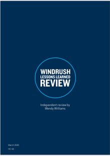 WINDRUSH LESSON LEARNED REPORT