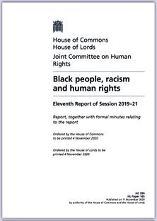 BLACK PEOPLE RACISM AND HUMAN RIGHTS UK