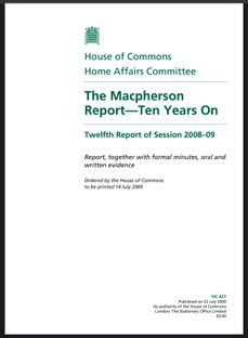THE MACPHERSON REPORT—10 YEARS ON